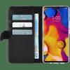 Azuri Wallet Magneet LG V40 Book Case Zwart