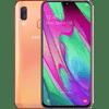 Samsung Galaxy A40 64GB Oranje