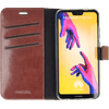 Valenta Booklet Gel Skin Huawei P20 Lite Book Case Brown