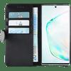 Azuri Wallet Samsung Galaxy Note 10 Book Case Zwart