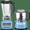 KitchenAid Diamond Blender Velvet Blauw + Hakmolen