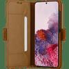 DBramante1928 Copenhagen Slim Samsung Galaxy S20 Book Case Leer Bruin