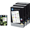 HP 953XL Cartridges Combo Pack + 1500 sheets of A4 paper
