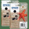 Epson 603XL Cartridges Zwart Duo Pack