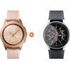 Samsung Galaxy Watch 42mm Rose Gold + PanzerGlass Samsung Galaxy Watch 42mm Screenprotecto