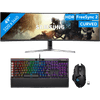 Samsung LC49RG90SSUXEN + Corsair RGB Keyboard QWERTY + Logitech Wireless Gaming Mouse