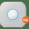 Google Nest Protect V2 Power Grid 4-Pack