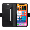 DBramante1928 Copenhagen Slim Apple iPhone 12 / 12 Pro Book Case Leer Zwart