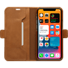 DBramante1928 Copenhagen Slim Apple iPhone 12 Pro Max Book Case Leer Bruin