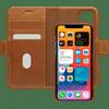DBramante1928 Lynge Apple iPhone 12 / 12 Pro Book Case Leer Bruin
