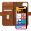 DBramante1928 Lynge Apple iPhone 12 Pro Max Book Case Leer Bruin