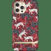 Richmond & Finch Samba Red Leopard Apple iPhone 12 Pro Max Back Cover