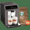 Krups Evidence One EA895E + Starbucks Koffiebonen