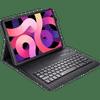 Just in Case Apple iPad Air (2020) Toetsenbord Hoes Zwart QWERTY
