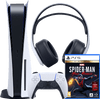 PlayStation 5 + Spider-Man - Miles Morales + PlayStation 3D Pulse Headset