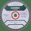 Metabo Saw Blade Precision Cut Wood 254x30x1.8mm 48T