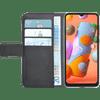 Azuri Wallet Samsung Galaxy A12 Book Case Zwart
