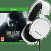 Resident Evil Village Xbox One en Xbox Series X+ SteelSeries Arctis 3 2019 Wit