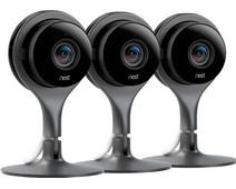 Google Nest Cam Indoor 3-Pack
