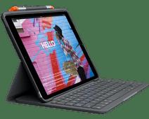 Logitech Slim Folio Apple iPad (2019) Toetsenbord Hoes QWERTY