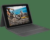 Logitech Rugged Folio Apple iPad (2019) Toetsenbord Hoes QWERTY
