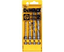 DeWalt 4-piece hammer drill set SDS-plus 5,6,8 and 10 mm