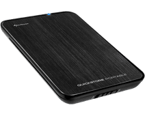 Sharkoon QuickStore Portable USB 3.0 2.5-Inch Black