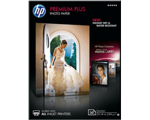 HP Premium Plus Glossy Photo Paper 20 sheets (13 x 18)