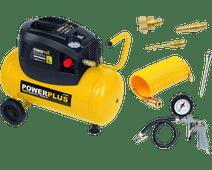 Powerplus POWX1730 + 6-part air tool set