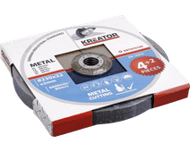 Kreator Grinding wheel Metal 230 mm 6 pieces