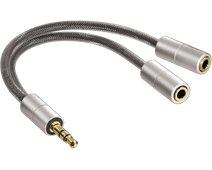 Hama AluLine 3.5mm Audio Splitter