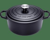 Le Creuset Round Dutch Oven 26cm Black