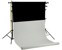 Falcon Eyes SPK-2W incl. 2 Rolls Black/White 1.35x11m