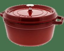 Staub Round Dutch Oven 26cm Cerise