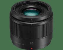 Panasonic Lumix G 25mm f/1.7 Zwart
