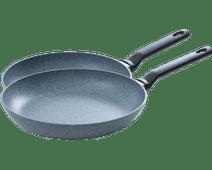 BK Granite Frying Pan Set 24+28cm