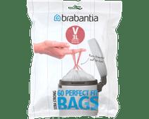 Brabantia Vuilniszakken Code V - 3 Liter (60 stuks)