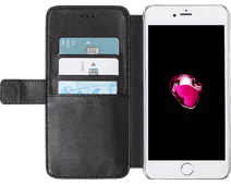 Azuri Wallet Apple iPhone SE 2/8/7/6/6s Book Case Black