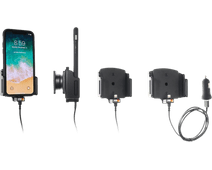 Brodit Mount Apple iPhone X with charger