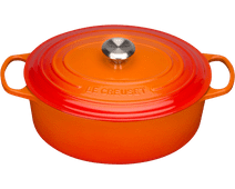 Le Creuset Oval Casserole 31 cm Orange-red