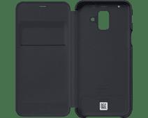 Samsung Galaxy A6 (2018) Wallet Cover Book Case Black