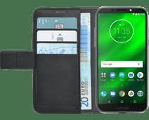 Azuri Wallet Magneet Motorola Moto G6 Play Book Case Zwart