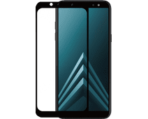 Azuri Samsung Galaxy A6 (2018) Screen Protector Tempered Glass Duo Pack Black