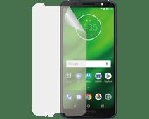 Azuri Motorola Moto G6 Plus Screen Protector Plastic Duo Pack