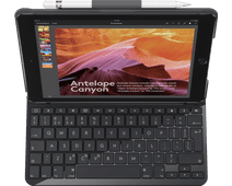Logitech iPad (2018) Slim Folio Toetsenbord Hoes QWERTY