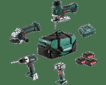 Metabo Bouw & Renovatie - 4 machines Combiset