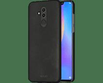 Azuri Metallic Soft Touch Huawei Mate 20 Lite Back Cover Zwart