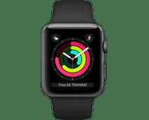 Apple Watch Series 3 42mm Space Gray Aluminum/Black