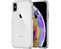 Spigen Ultra Hybrid Apple iPhone Xs / X Back Cover Transparent