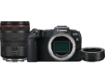 Canon EOS RP + RF 24-105mm f/4L IS USM + EF-EOS R Adapter